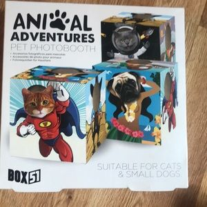 Animal Lovers Adventure Pet Photobooth Cube